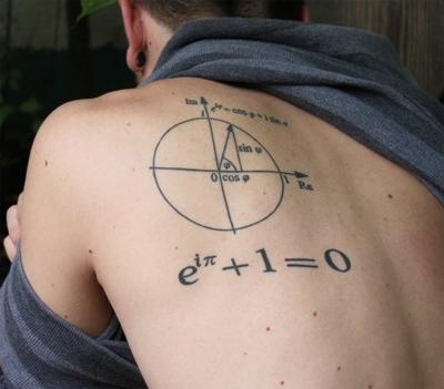 Tatuaje Identidad de Euler
