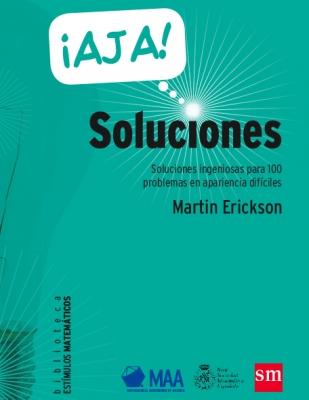 Portada de Soluciones ¡Ajá!, de Martin Erickson