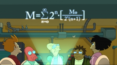 Series divergentes en Futurama