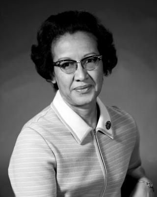 Katherine Johnson, matemática (NASA)