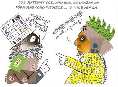 Matemáticos airados