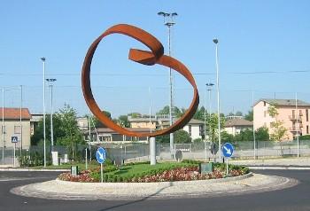 La banda de Moebius (Cantú, Italia)