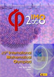 Poster de la Olimpiada Internacional de Matemáticas 2008