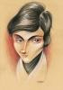 Caricatura de Evariste Galois