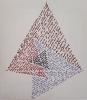 Dibujo para la instalación «Triángulo interior de Napoleón» (finales años 1980)